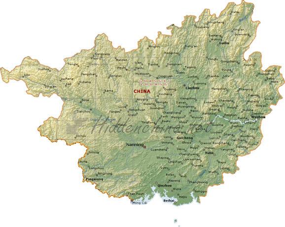 Nanning Provinz Guangxi