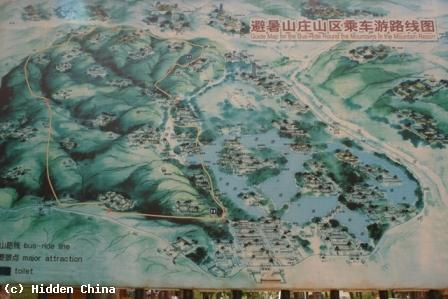 Hidden China GmbH Mountain Resort And Outlying Temples In - Chengde map